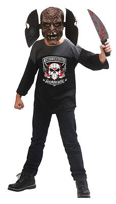 Maniac Jason Hockey Mask Child Costume ](Jason Kids Costumes)