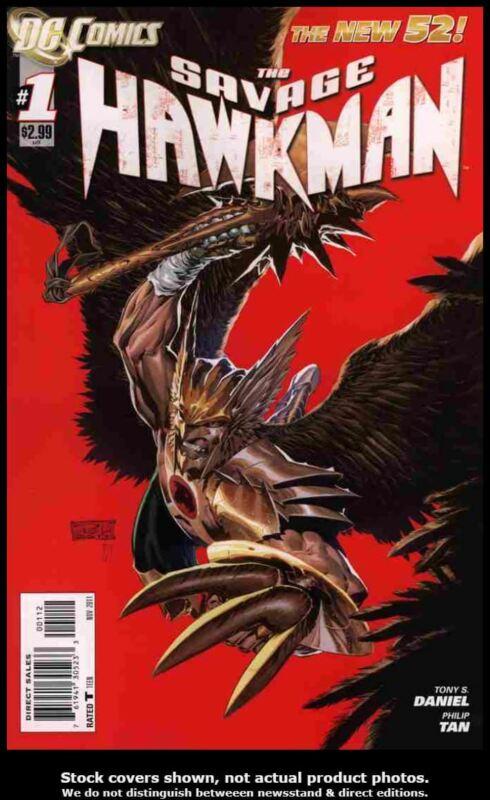 Savage Hawkman, The #1 2nd Printing VF/NM