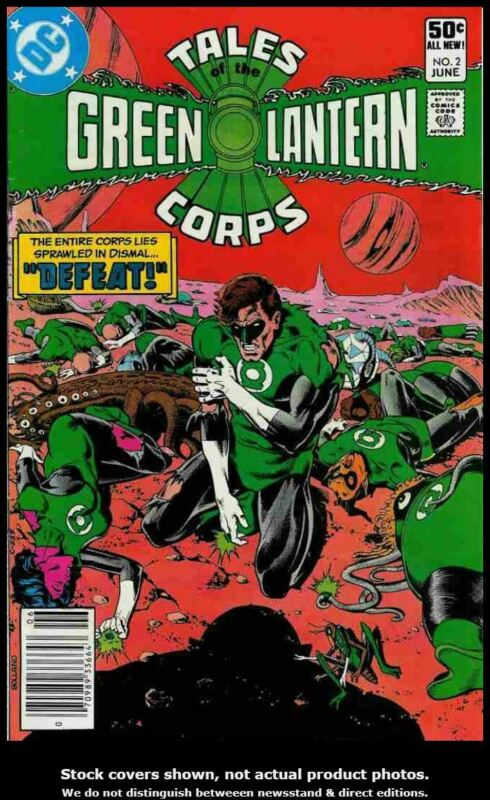 Tales of the Green Lantern Corps 2 DC 1981 FN