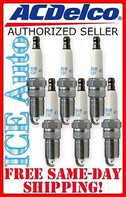 6 PACK Spark Plugs - Iridium ACDELCO PRO 41-101  (6 spark plugs) 41101