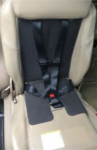 Integrated/built in child seat for GM vans