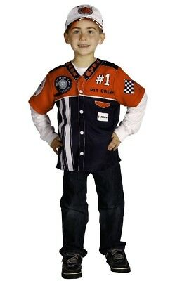 Aeromax My 1st Career Gear Pit Crew Mechanic Nascar Race Car Driver Costume Top