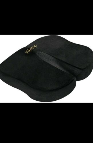 Welltop Seat Cushion Memory Foam Cushion Ergonomic Cushion f
