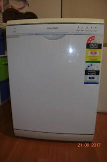 Fisher and Paykel White Dishwasher