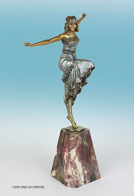 Art Deco bronze by Paul Philippe.