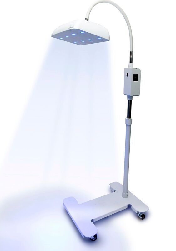 NEW ! Bistos Blue LED Phototherapy Equipment on Casters, FDA Approved, BT400