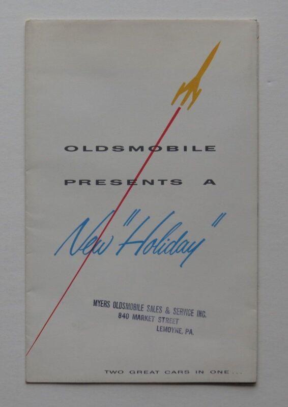 Oldsmobile Brochure 88 89