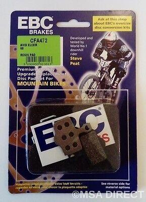 EBC Resina Montaña Pastillas Freno Disco Bici Para Avid Elixir 1/3/5/7 /...
