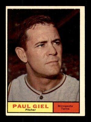 1961 Topps #374 PAUL GIEL EX+ *9v