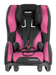 Recaro Kindersitz Young Expert Plus in Pink, 9-18 kg, Isofix mgl. mit opt. Basis
