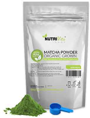 250g (8.8oz) 100% NEW Matcha Green Tea Powder Organically Grown Japanese nonGMO