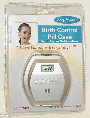 "LADY MELISSA BIRTH CONTROL 3.25"" X 3.5"" Remedy CASE WITH ALARM NOTIFICATION NEW"