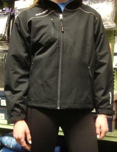 Bauer warm up jackets youth  in black