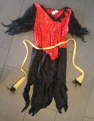 rgirl Spiderwoman 44 Rot Schwarz (Spider Woman Girl Kostüm)