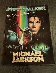 Michael Jackson Coloring Book Moonwalker 1988