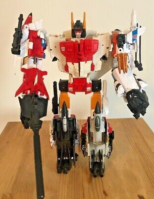 Transformers G2 Combiner Wars Superion 100% complete 2015