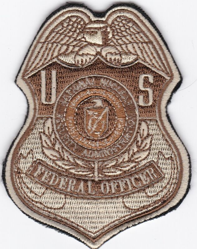 DOE Department of Energy Federal Officer Badge Patch
