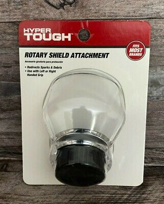 Hyper Tough Rotary Shield Attachment, Fits Most Brands AU50027N