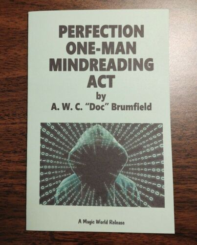 Perfection One-Man Mindreading Act (by Doc Brumfield)