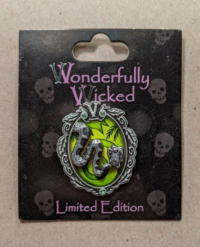 Disney Pin Trading - 2015 Wonderfully Wicked Collection - Kaa LE3000