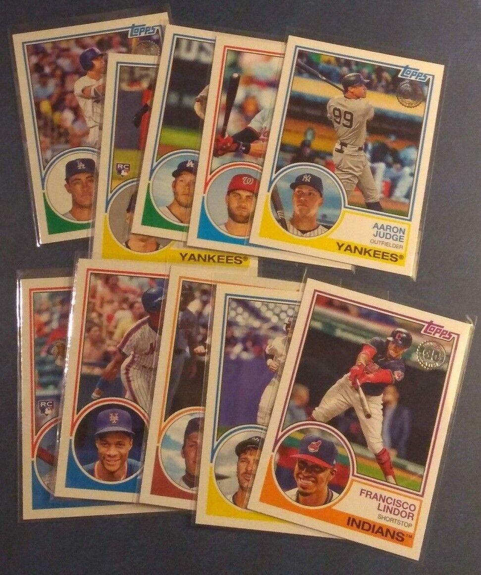 2018 Topps Series 1 2 Update Rookie 1983 35th Anniversary Insert Pick From List
