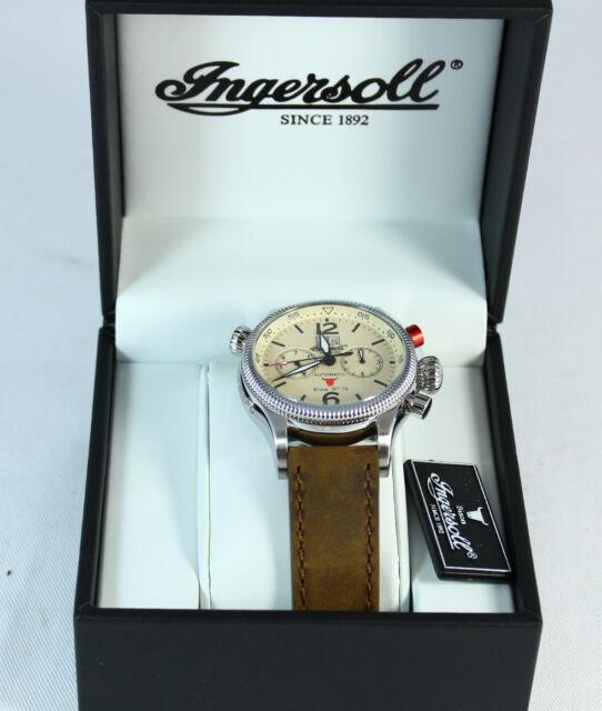 Ingersoll Armbanduhr für Herren Automatik Bison No. 70 IN 3225 CR