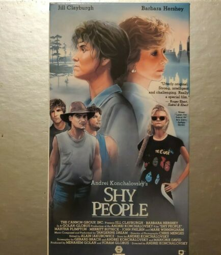 Shy People VHS Drama Cannon Video Jill Clayburgh Tested Rare 1988 Nice Condition - $11.99