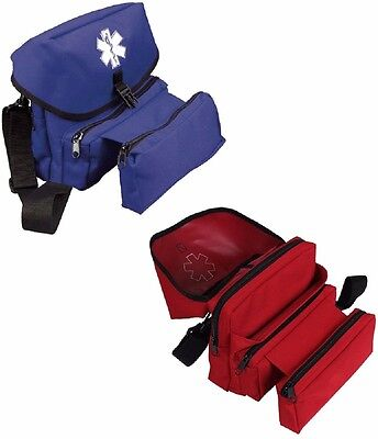 Medical Field Kit Bag ( EMS First Aid Medical Emergency Rescue Field Kit Bag Rothco Red OR Blue )