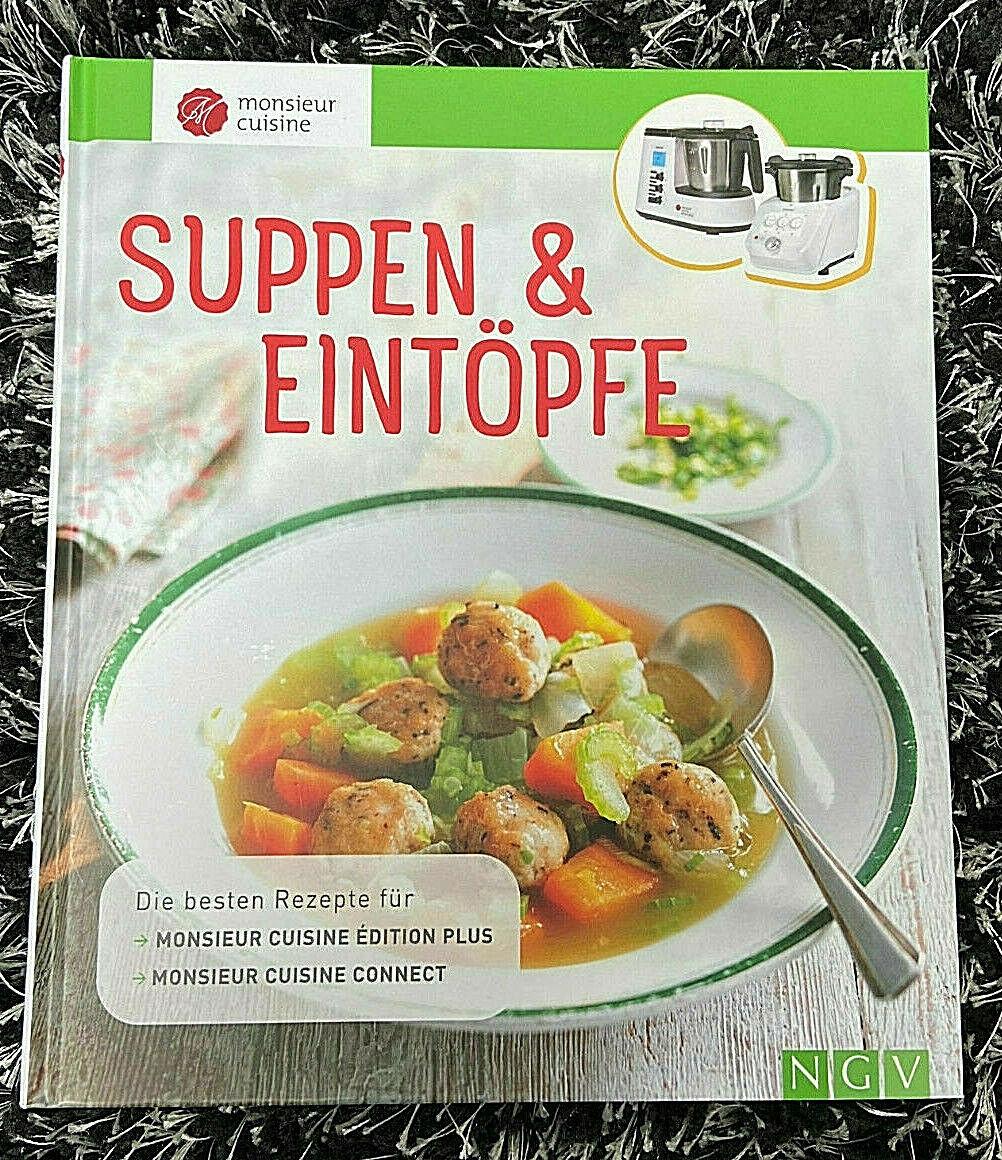 Neu Buch Monsieur Cuisine Connect / Èdition Plus Kochbuch Suppen & Eintöpfe