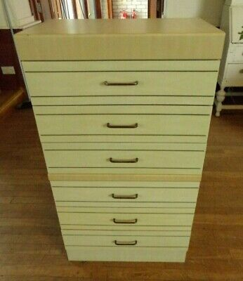 Vintage Retro Chest of 6 Drawers