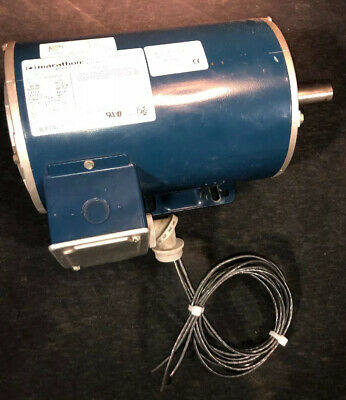 Marathon Electric Motor 2 Hp 200-208v 3 Phase. Used On A Quincy Compressor