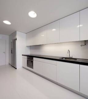 Flat packed Kitchen cabinets in 3000 mm length