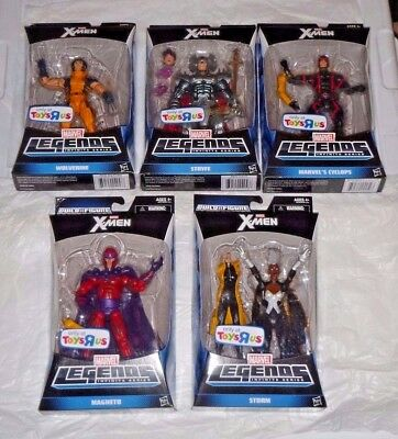 MARVEL LEGENDS X-MEN BAF JUBILEE W/ MAGNETO STORM STRYFE TRU EXCLUSIVE VHTF NEW