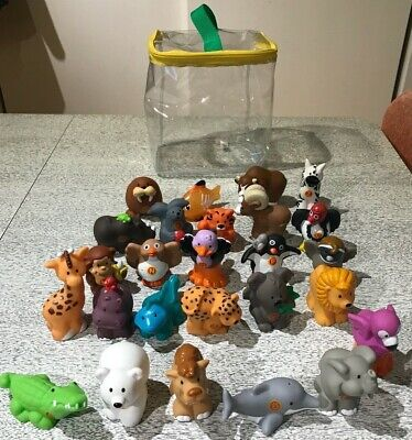Fisher Price LP A to Z Learning Zoo Alphabet Animals Complete w/ Carrying Case