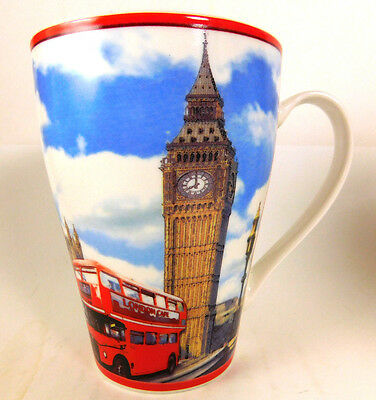 LONDON CAFE ENGLAND MUG BIG BEN -TOWER OF LONDON
