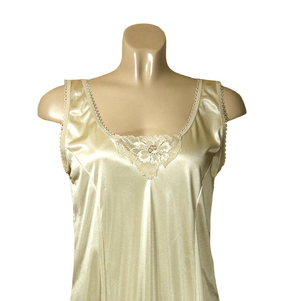 2 Damen Unterkleider Unterröcke in hautfarben Größe 52/54  Sonderpreis