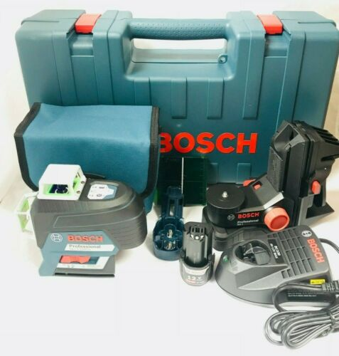 Bosch GLL3-330CG 360-Degrees 3-Plane Green Beam Self-Leveling Line Laser