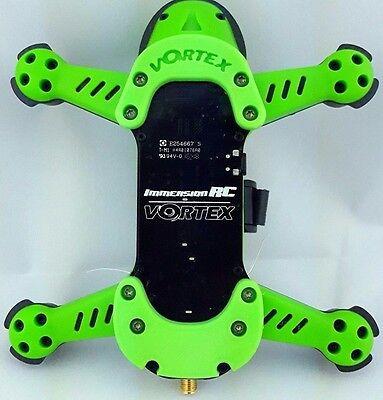 Vortex 150 Pro Skid Plate Set 3D Printed GREEN  - Green Plate Set