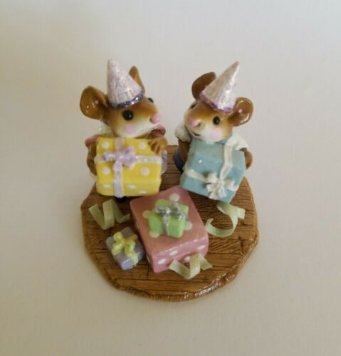 Wee Forest Folk Party Kids M-224a Annette Peterson 2005