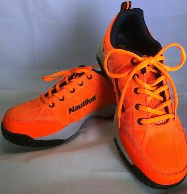 Nautilus ORANGE black steel toe work OUT Mens tennis sneakers shoe  8.5M (Nautilus Sneakers)