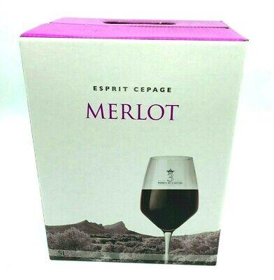 Rotwein BIB: COTEAUX DU PIC, Merlot, IGP aus dem Languedoc, 5-Liter Bag-in-Box