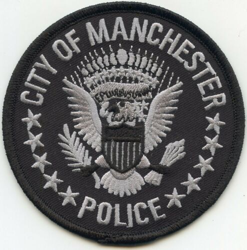 MANCHESTER TENNESSEE TN POLICE PATCH