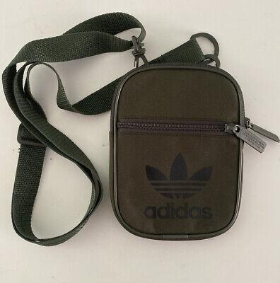 Adidas Mini Festival Bag Mens Womens Cross Body Pouch Bag Green