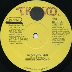 GREGG-DIAMOND-Star-Cruiser-b-w-This-Side-Of-Midnight-1978-U-S-Promo-12inch