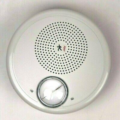 New Edwards Gchfwn-s2vmc Fire Alarm Ceiling Speakerstrobe 25 V White