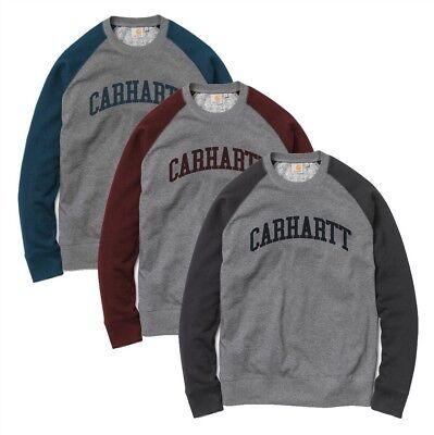 Carhartt Sweatshirt Herren Pullover College Raglan Shirt Hoodie - Randall -  NEU - Raglan Hoodie Sweatshirt