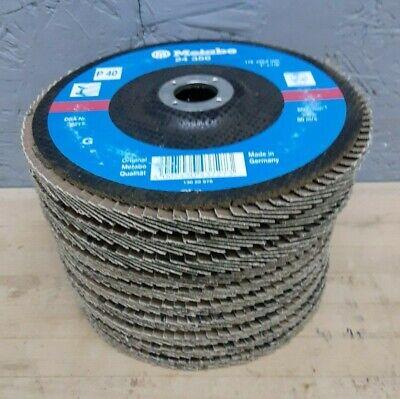 Metabo Abrasive 7 X 78 P40 Grit Flap Discs 24 356 Sanding Grinding Wheel