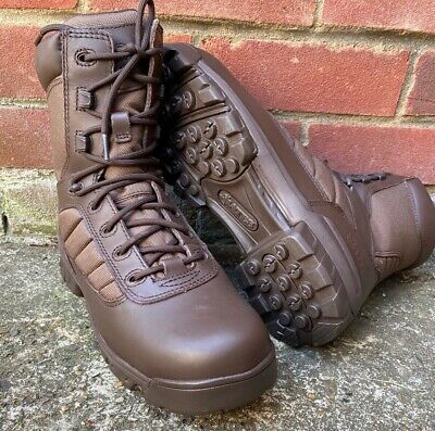 BRITISH MILITARY BATES GORETEX BROWN PATROL ARMY BOOTS SIZE 9 Wide