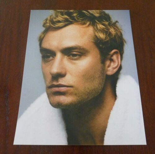 Jude Law Actor Sexy 8x10 Color Promo Photo