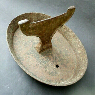 Antique Victorian Kenrick Cast Iron Boot Scrapper Whale Tail Garden Ornament